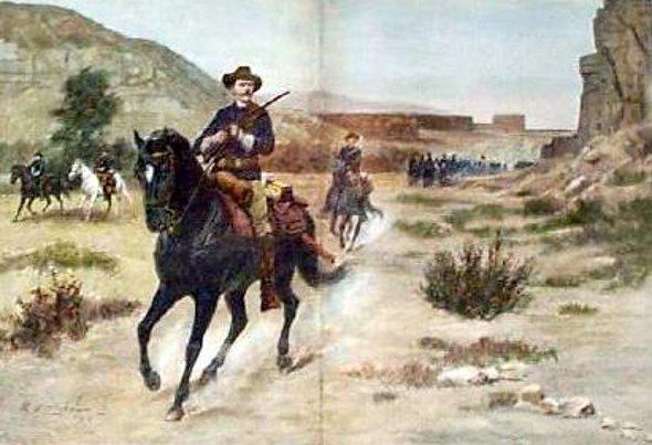 Western Cavalry Horse