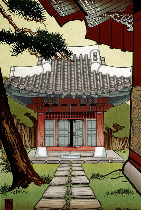 A Korean Shrine