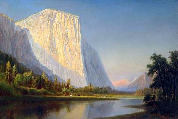 A Small Encampment, El Capitan, Yosemite Valley