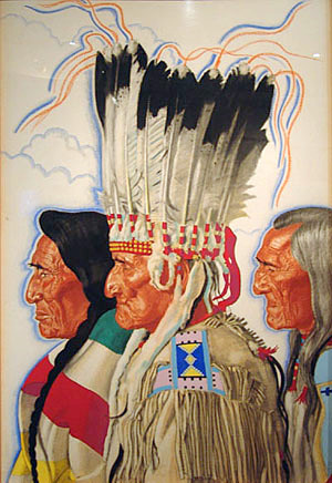 Eagle Child, Mountain Chief And Bear Medicine