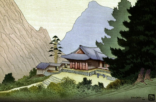 Makaen Monastery, Diamond Mountains, Korea