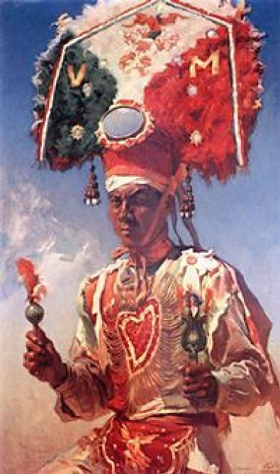 Portrait Of Montezuma