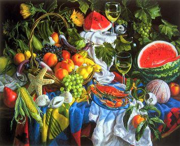 Fruits Of The Sea, Garden & Vineyard