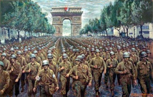 The 28th Division In Paris