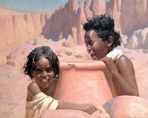 Young Water Carriers