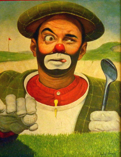 Golfer Clown