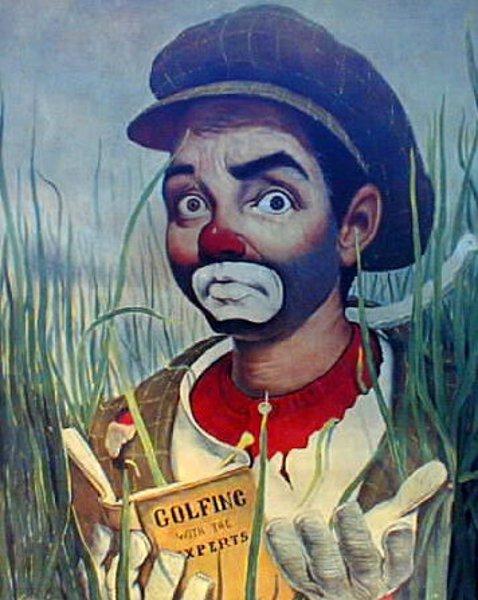 Mr. Golfer Clown