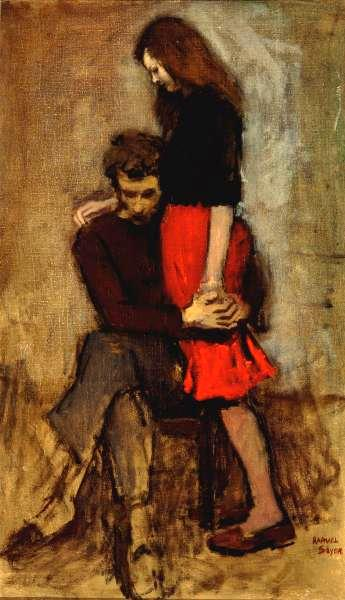 Consolation Raphael Soyer SOYER Raphael | AMERIC...