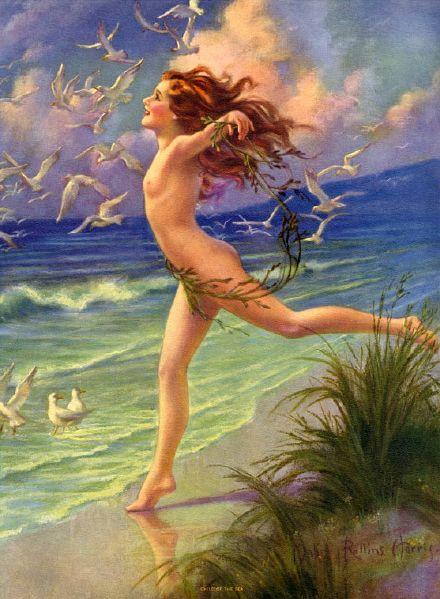 nude in little children: