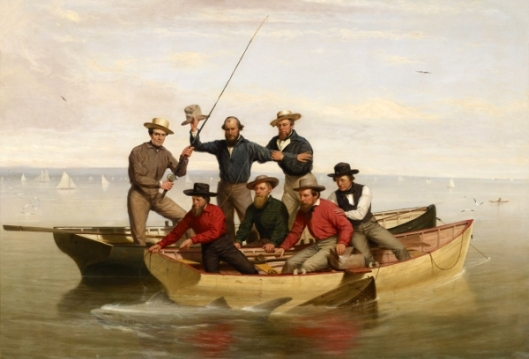 A Fishing Party Off Long Island