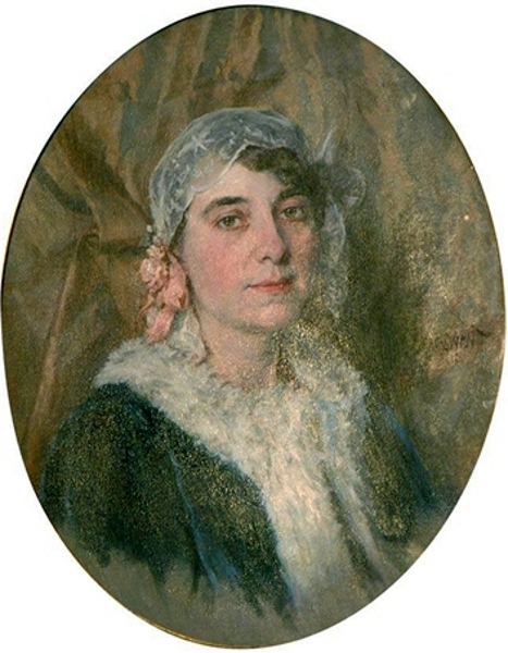 A Lady With Lace Cap