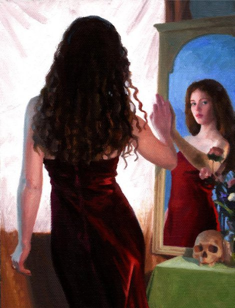 Figure With Vanitas