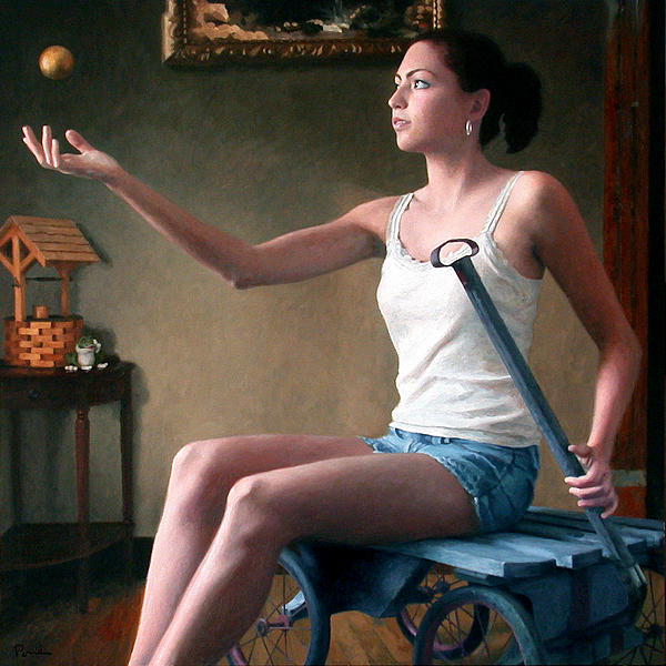 Girl With The Golden Ball