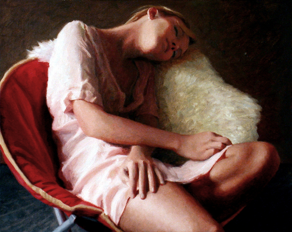 Samantha Sleeping