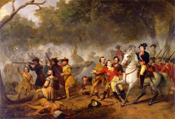 Washington As Captain In The French And Indian War