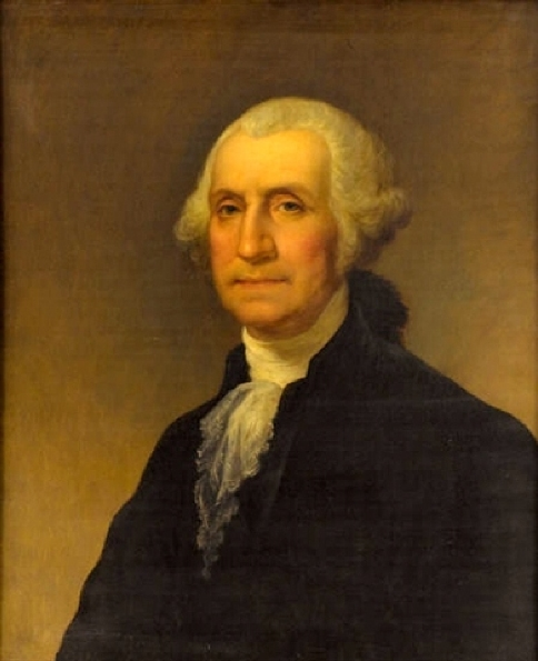 What Was George Washington S Natural Hair Color