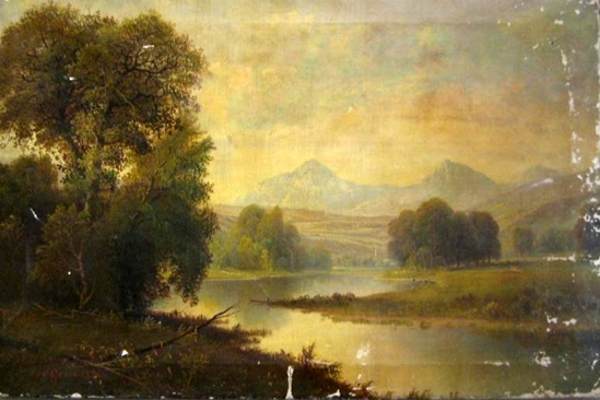 Landscape With Winding River