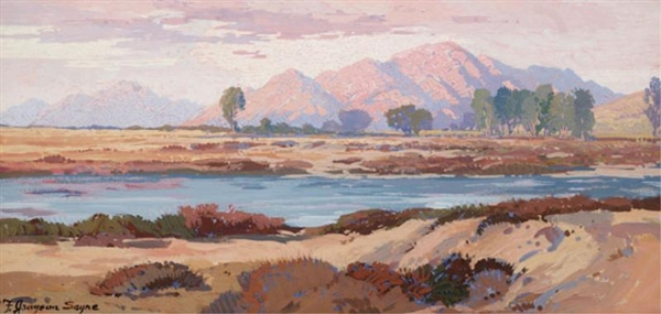 Southwestern Mountain Landscape