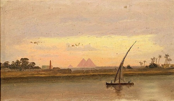 Reminiscence Of A Sailing Day - A Nile Sketch