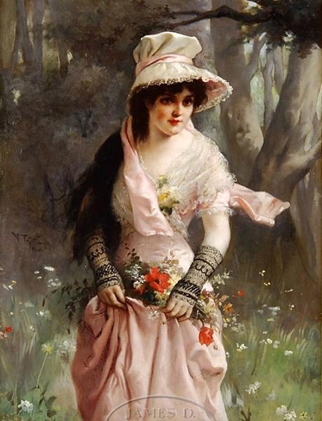 Parisian Flower Girl