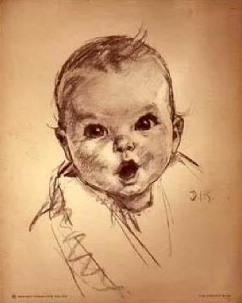 Portrait Of Ann Turner Cook (aka Gerber Baby)