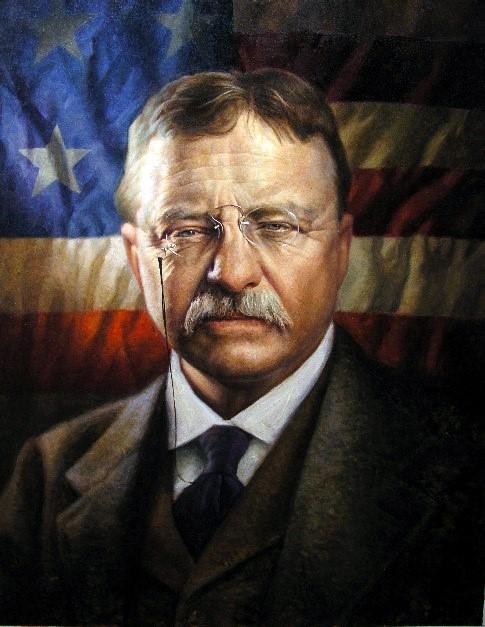 DEAS Michael J.   AMERICAN GALLERY - 21st Century Theodore Roosevelt Grant