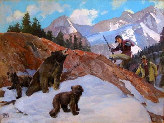 Bears And Hunters