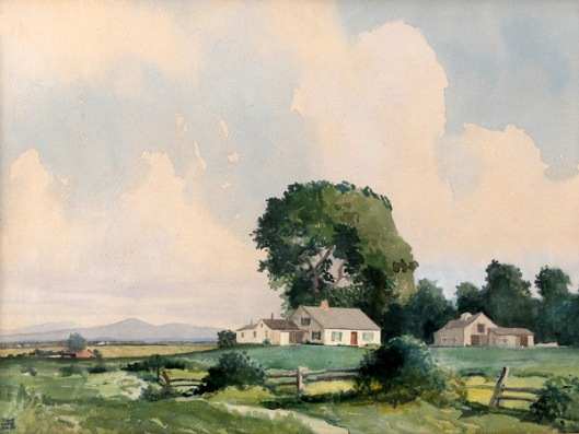 Farmhouse In Countryside