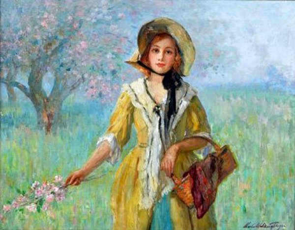 Picking Blossoms