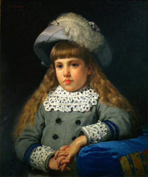 Portrait Of A Young Girl - Laura Jayne Layson née Bucknell