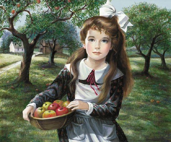 small apple orchard?w594&amph495 - my art galery...