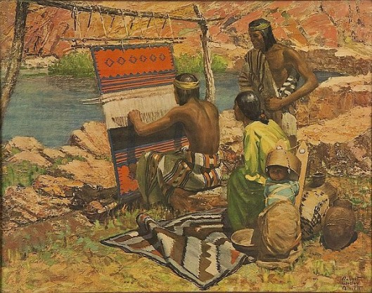 The Indian Weaver
