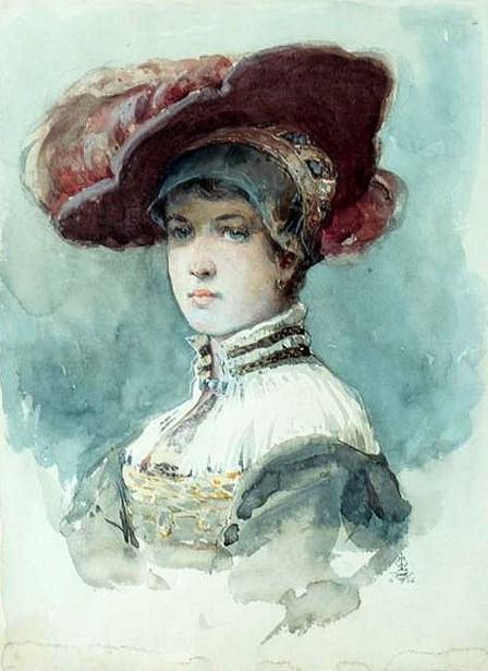 The Magenta Chapeau