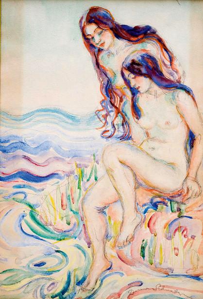 Nude Bathers