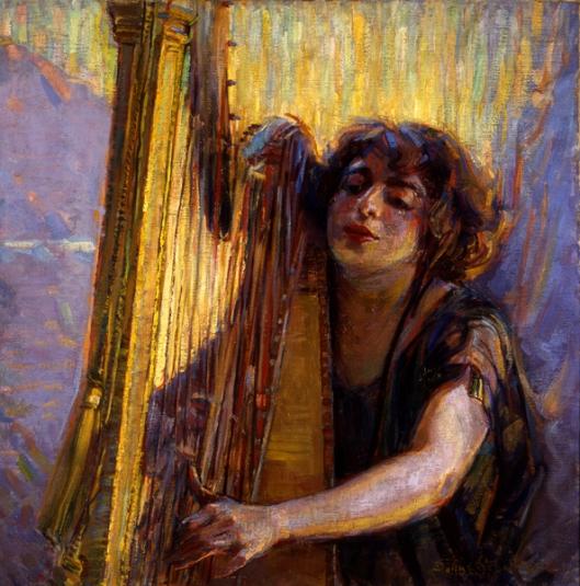 O'er Waiting Harp Strings