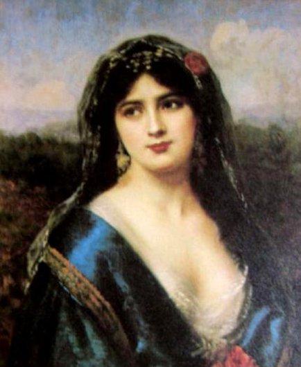Portrait Of An Indian Princess