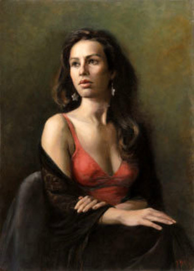 Elisa, Portrait Of A Dancer
