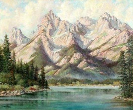 The Tetons At String Lake, Wyoming
