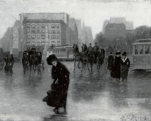 Early Snow, Madison Square