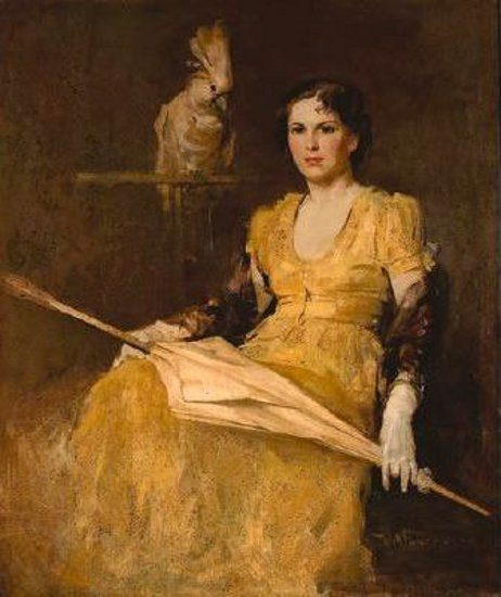Foster william frederick american gallery young lady in yellow publicscrutiny Choice Image