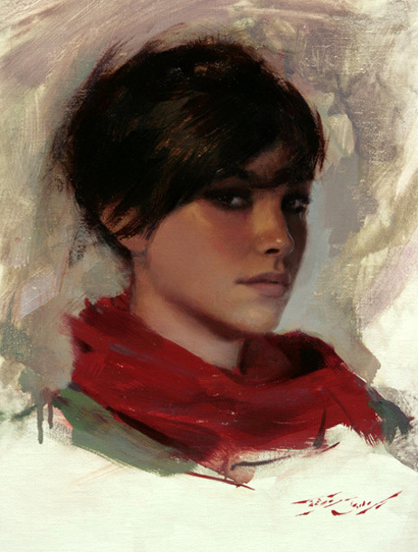 Casey baugh 1984 american gallery for Portrait painting tutorial
