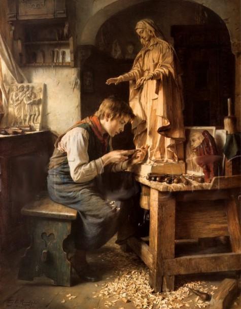Muskarci na slikarskom platnu His-madonna