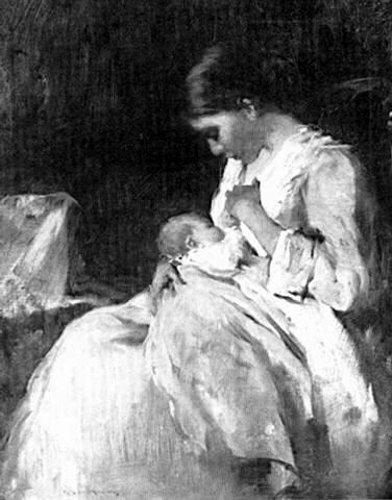 Zena na slikarskom platnu - Page 3 Mother-and-child-2