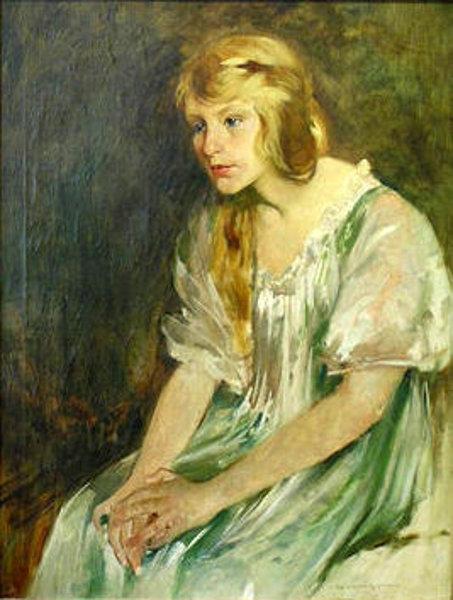 Zena na slikarskom platnu - Page 2 Young-woman-possibly-katherine-cook-of-carmel