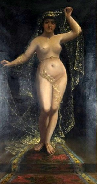 Female Nude In Eastern Dress