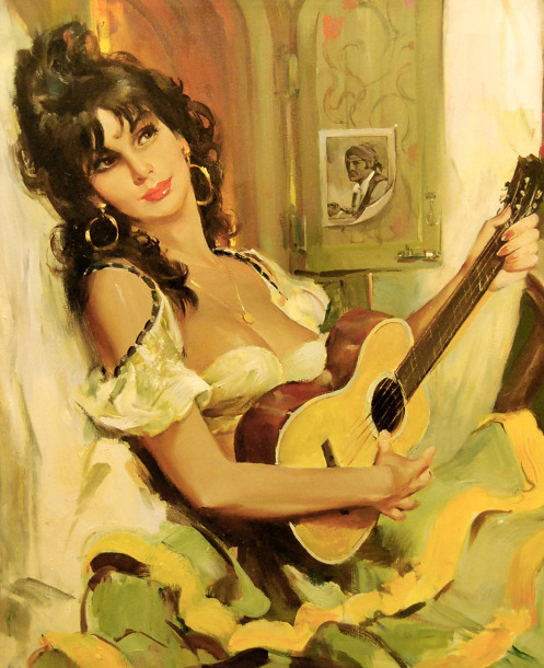 Image result for Girl From Spain Art Paintings