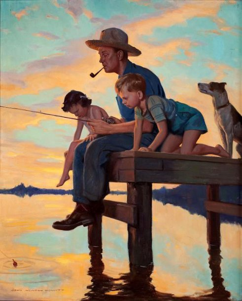 сочинение на тему рыбалка с отцом