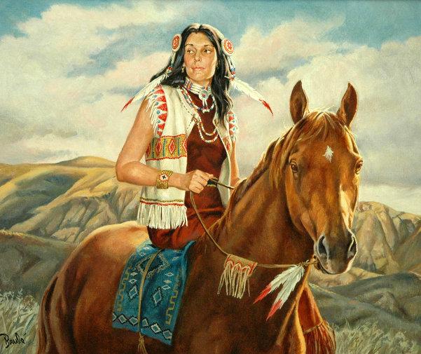 Crazy Horse's Woman