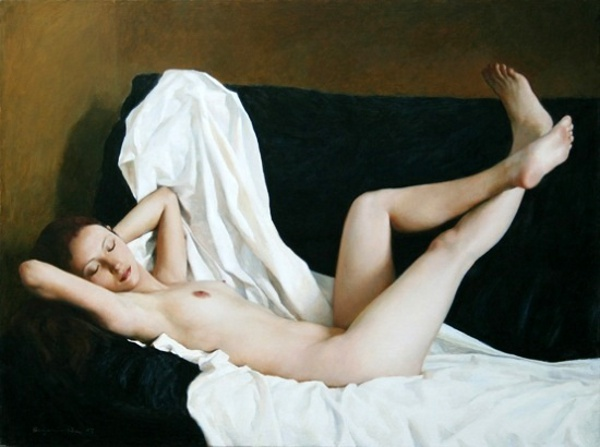 Nude On A Sofa 40