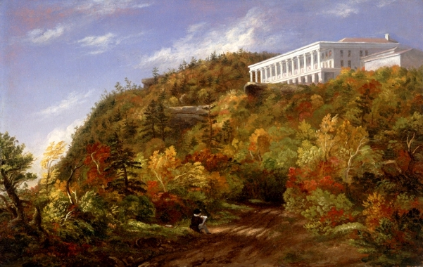 A View Of The Catskill Mountain House
